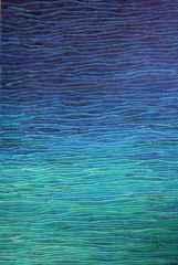 150x90 cm - TÜYB - 2014 - Mavi Üzerine Notlar