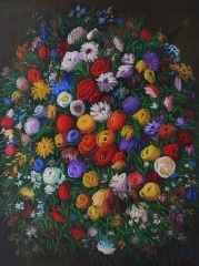 Benim Çiçeklerim-1, 130x98 cm, TÜYB, 2015