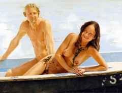 çiftler dizisi-lovers series, 89x116 cm tüyb 2012