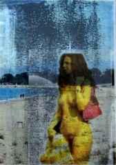 gündelik yaşam dizisi-daily life series,, 27x22 cm, Fotokolaj 2013