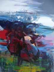 Hakan Eraslan<br />180x140 cm, TÜAB, 2015