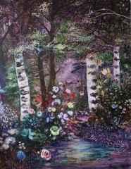 Nil Köken<br />'Büyülü Orman', 180x140 cm, TÜYB, 2016