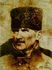 Hasan Çağlayan - 'Atatürk', 80x60 cm, TÜKT