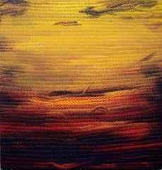 Ahmet Yeşil - Dip Notlar-III/Postscripts-III, 70x70 cm, Tuvale yağlı boya/Oil on canvas, 2017