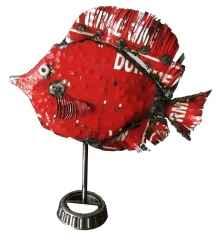 ' Balık ', 35x30x10 cm, Hurda Metal, Kaynak