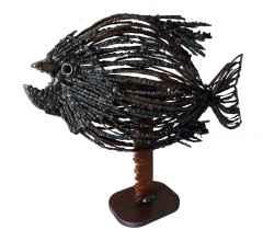 ' Balık ', 50x65x15 cm, Hurda Metal, Kaynak
