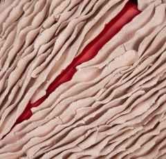 'Kesik -detay', 57,5x43x11,5 cm, Elle Şekillendirme, 2018