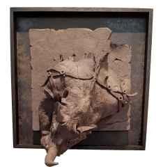 Untitled - İsimsiz, 20x20x15 cm, Black Clay, Siyah Kil-1250°C Handshaping, Serbest Elle ve Kalıpla Şekillendirme, 2017