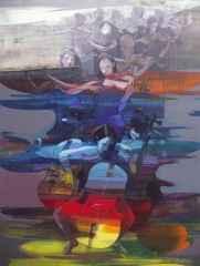 Hakan Eraslan, 120x90 cm, TÜAB, 2016