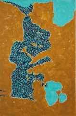 Marevitae / Sea of Life 90x60 cm, Tuval üzerine akrilik