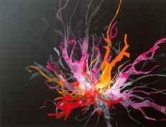 100x130 cm - TÜAB - 2007 - Mitolojik Işık