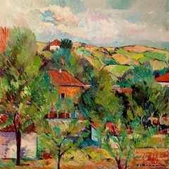 Balabanköy, 60x60 cm, TÜYB, 2018