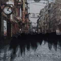'16.06.06 saat: 16:06', 50x50 cm, Poliplastik, 2017