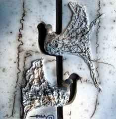 21x21 cm - Seramik (Horsehair Raku) - 2013
