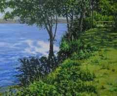 'Sapanca Gölü'<br />50x60 cm - TÜYB - 2014