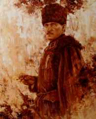 Atatürk, 80x65 cm, TÜYB, 2016