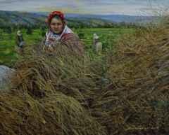 Rize'li kadınlar, 40x50 cm, TÜYB, 2017