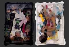 Emre Lüle - 'İyi-Kötü', 140x190 cm, Polyplastic, 2016
