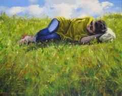 Fatih Karakaş<br />'Yaylada Dinlenme', 40x50 cm, TÜYB, 2015