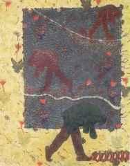 110x90 cm - Ağaç Baskı - 2005 - Arayış