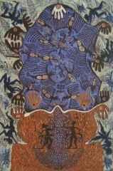 59x40 cm - Ağaç Baskı - 2003 - Çatalhöyük