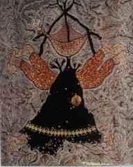 105x85 cm - Ağaç Baskı - 2003 - Siyah Kalem'nin Demonları