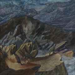 'Ufka Bakan Elik', 70x70 cm, TÜYB, 2017