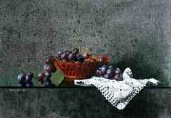 Dantelli Üzüm, 55x38 cm TÜYB 2010