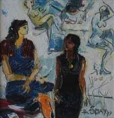 'Kuma'<br />27x27 cm, DÜYB, 1997