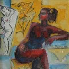 'Danstan Sonra'<br />20x20 cm, DÜYB, 2001