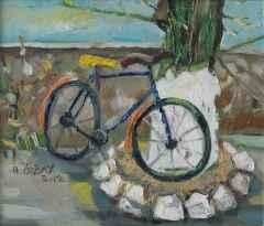 'Bisiklet ve Ağaç XI'<br />30x35 cm, DÜYB, 2012