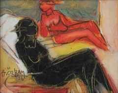 'Siyah Kırmızı'<br />20x25 cm, TÜYB, 2006