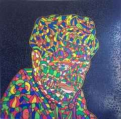 'Nazım Hikmet', 100x100 cm, TÜYB, 2015