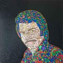 'Orhan Gencebay', 100x100 cm, TÜYB, 2015