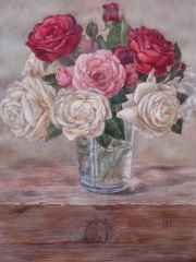 'Roses', 33x47 cm, watercolour, 2015