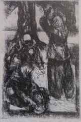 Fahri Sümer <br/> 25x18 cm, Gravür, 1987