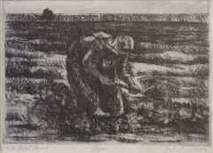 Fahri Sümer <br/> 18x25 cm, Gravür, 1987
