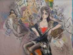 Mustafa Ayaz <br/> 70x90 cm, TÜYB, 1988
