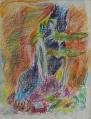 Zeki Faik İzer <br/>28x22 cm, Pastel, 1960