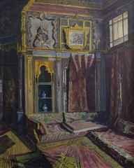 Selahattin Teoman<br />'Hamid'in Pembe Odası', 80x65 cm, Tuval Üzeri Yağlı Boya, 1957
