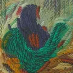 Ahmet Yeşil - 20x20 cm