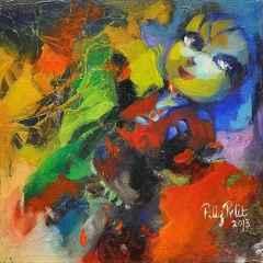 Filiz Pelit - 20x20 cm