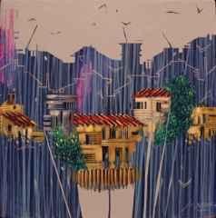 Baki Bodur - 20x20 cm - 2014