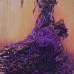 Ahmet Yeşil - Dip Notlar-II/Postscripts-II, 70x70 cm, Tuvale yağlı boya, 2017