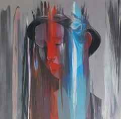 Hakan Eraslan - İsimsiz, 70x70 cm, Tuvale akrilik boya, 2017