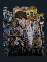 Emre Lüle, 'Spirit of Botter', 100x80 cm, Pleksiglas+Ahşap, 2015
