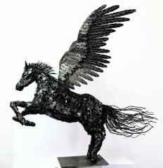 Pegasus - 90x90x103 cm - Metal