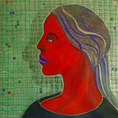 Bir Portre - 70x70 cm, TÜAB