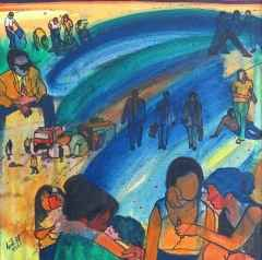 'Anneler Günü', 40x40 cm, TÜYB, 2001