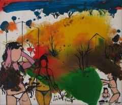 'Şehirden', 30x34 cm, TÜYB, 2009